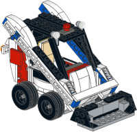 Skid-steer loader (Bobcat), an alternate model of set 31006