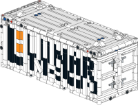 20ft container - Lunar Industries